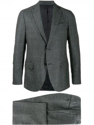Delloglio костюм-двойка приталенного кроя Dell'oglio. Цвет: серый