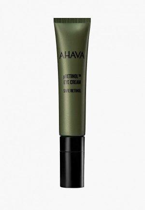 Крем для кожи вокруг глаз Ahava SAFE RETINOL с комплексом pretinol™, 15 мл. Цвет: прозрачный