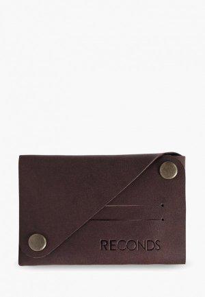 Кошелек Reconds Compact. Цвет: коричневый