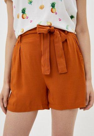 Шорты Fresh Made. Цвет: оранжевый