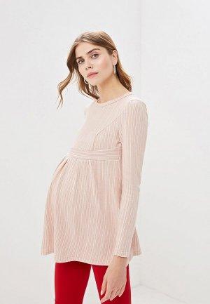 Блуза Очаровательная Адель. Цвет: бежевый