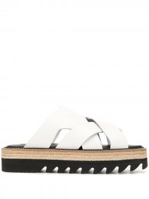 Ys сандалии с ремешками Y's. Цвет: белый