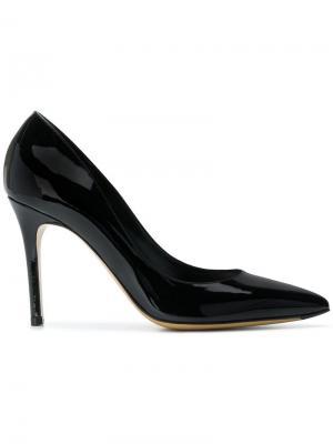 Туфли с заостренным носком Antonio Barbato. Цвет: черный