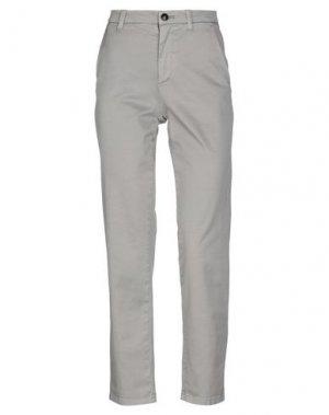 Повседневные брюки HISTORIC. Цвет: серый