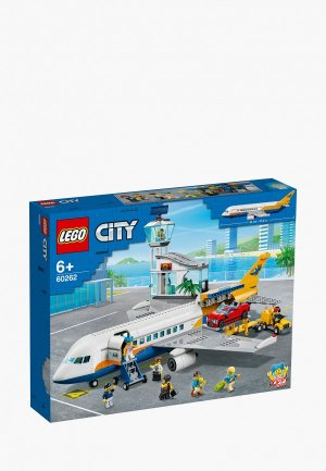 Конструктор LEGO Passenger Airplane. Цвет: разноцветный