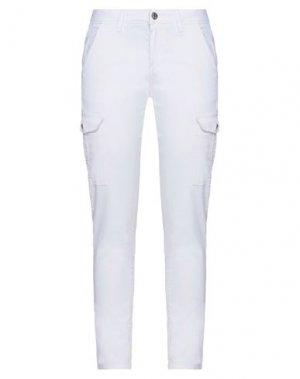 Джинсовые брюки GAUDÌ. Цвет: белый