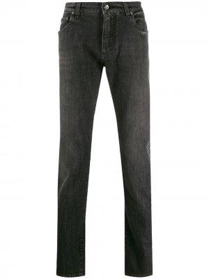 Зауженные джинсы Dolce & Gabbana. Цвет: черный