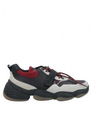 Низкие кеды и кроссовки BRONX. Цвет: черный
