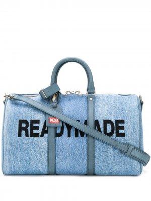 Дорожная сумка Readymade Diesel Red Tag. Цвет: синий