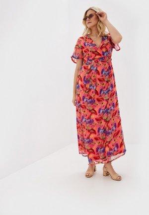Платье Almatrichi. Цвет: розовый