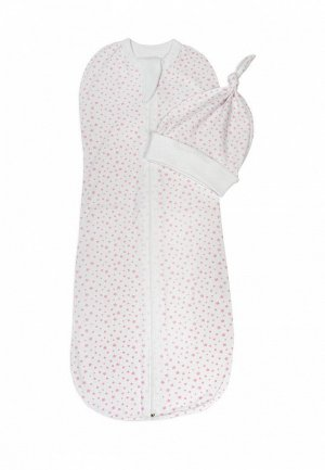 Комплект Amarobaby Soft Hugs. Цвет: белый