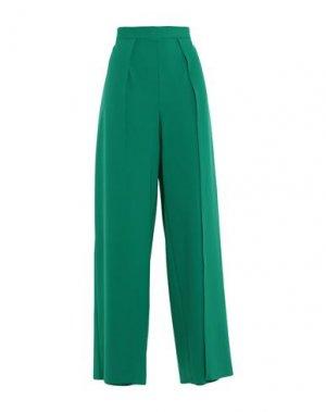 Повседневные брюки CASTING. Цвет: изумрудно-зеленый