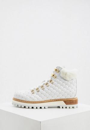 Ботинки Le Silla. Цвет: белый