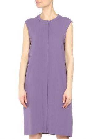 Платье S MAX MARA. Цвет: фиолетовый