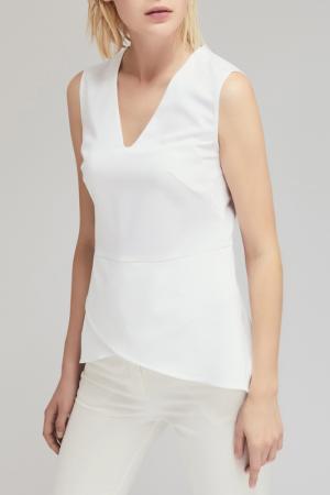 Блуза Charuel. Цвет: белый