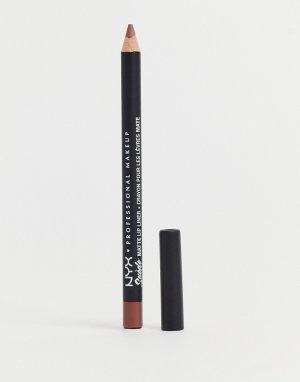 Матовый карандаш для губ NYX Professional Makeup