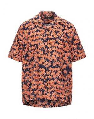 Pубашка BAND OF OUTSIDERS. Цвет: оранжевый