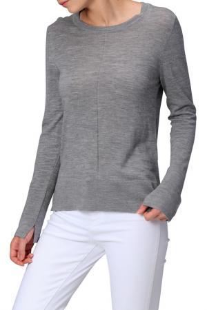 Пуловер MANODE. Цвет: серый