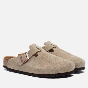 Мужские сандалии Boston Suede Birkenstock. Цвет: бежевый