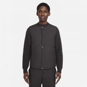 Мужской утепленный жилет Nike ESC - Черный