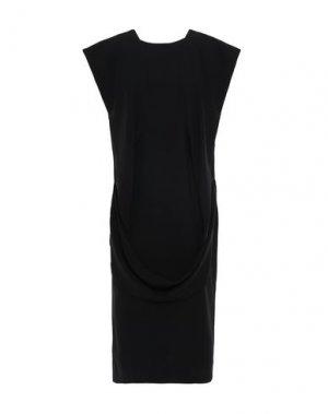 Платье до колена CHALAYAN. Цвет: черный