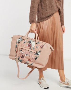 Спортивная сумка с цветочным принтом Abigail Weekender-Многоцветный Fiorelli