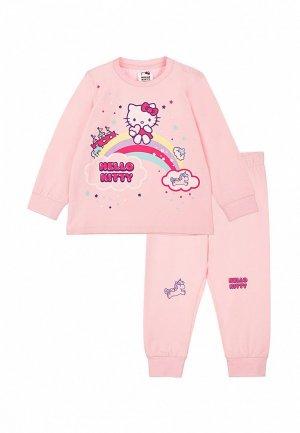 Пижама PlayToday. Цвет: розовый