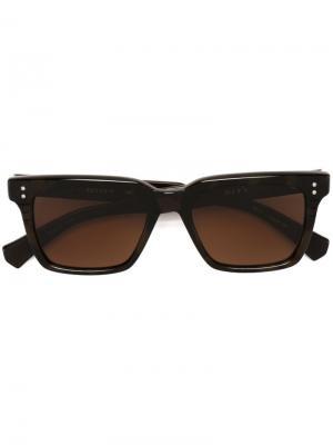 Солнцезащитные очки Sequoia Dita Eyewear. Цвет: коричневый