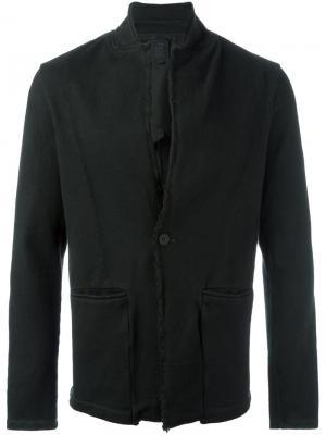 Пиджак на одной пуговице Thom Krom. Цвет: чёрный