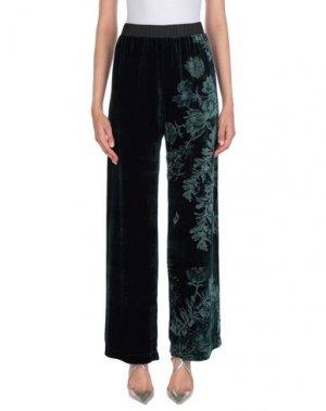 Повседневные брюки MILA ZB. Цвет: темно-зеленый