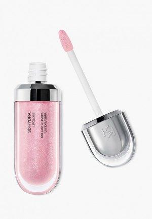 Блеск для губ Kiko Milano смягчающий с трехмерным эффектом 3D HYDRA LIPGLOSS, оттенок 05, Pearly Pink, 6.5 мл. Цвет: розовый