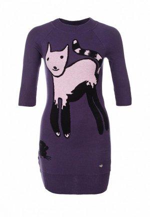 Платье LeMonada LE005EWET051. Цвет: фиолетовый