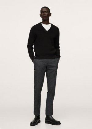 Пуловер рельефной вязки - Texasv Mango. Цвет: черный