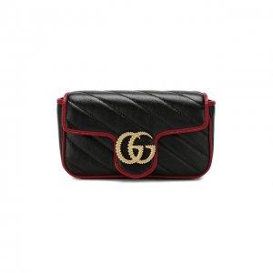 Сумка GG Marmont Gucci. Цвет: чёрный