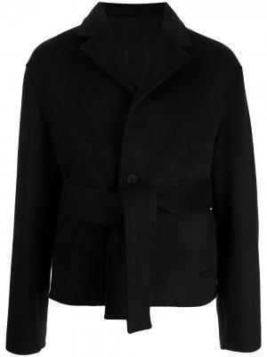Пиджак строгого кроя Wooyoungmi. Цвет: черный