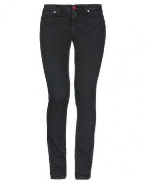 Джинсовые брюки KITON. Цвет: черный