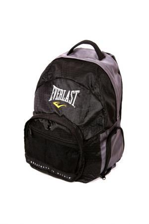 Рюкзак Everlast Back Pack. Цвет: черный, серый