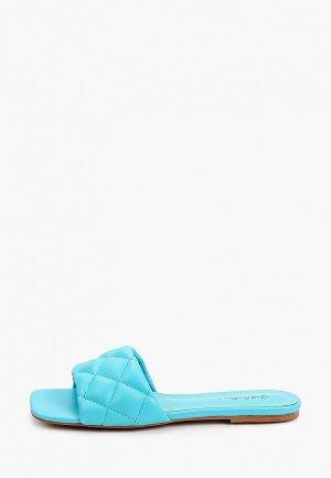 Сабо Just Couture. Цвет: голубой