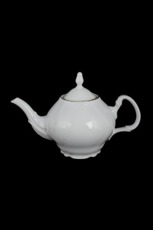 Чайник 0,7 л BERNADOTTE. Цвет: белый, золотой