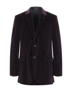 Пиджак CALVIN KLEIN COLLECTION. Цвет: баклажанный