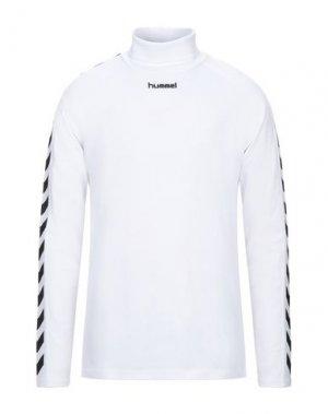 Футболка HUMMEL. Цвет: белый