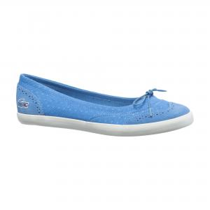 Балетки Casual Lacoste. Цвет: голубой