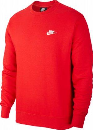 Свитшот мужской Sportswear Club, размер 46-48 Nike. Цвет: красный