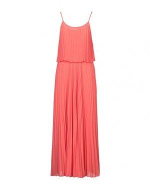 Длинное платье CARACTÈRE. Цвет: коралловый