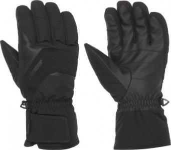 Перчатки мужские , размер 10,5 Ziener. Цвет: черный