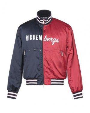 Куртка BIKKEMBERGS. Цвет: красный