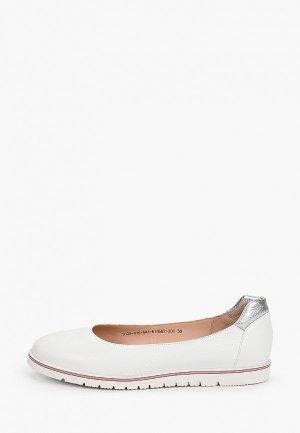 Туфли Giotto. Цвет: белый
