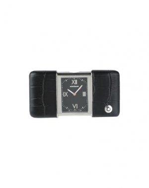 Настольные часы MONTBLANC. Цвет: черный