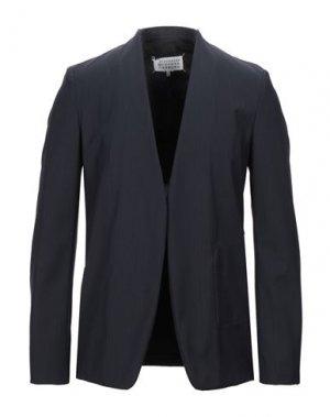 Пиджак MAISON MARGIELA. Цвет: темно-синий
