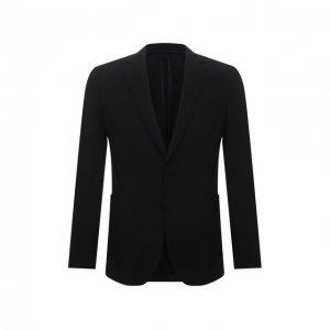 Пиджак BOSS. Цвет: чёрный